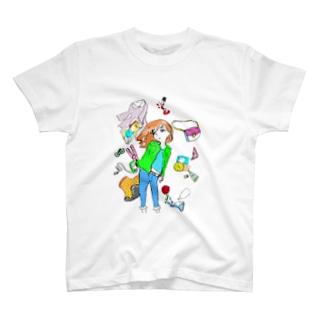流行りは憂鬱(カラー) T-shirts