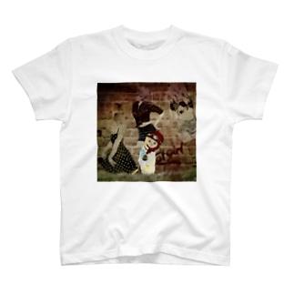 CAT GIRL 道草2 T-shirts