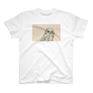 White owl T-shirts