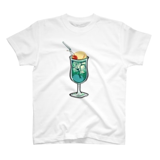 うわわさんinクリームソーダ T-shirts