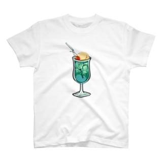 うわわさんクリームソーダ T-shirts
