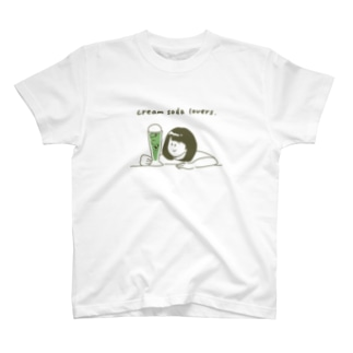 creamsodalovers(メロン) T-shirts