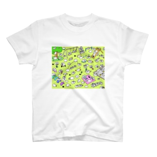 ちみ遊んでるねえ T-shirts