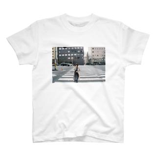 てやん 横断歩道 T-shirts