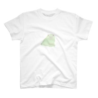 左手で描いた らくがき犬  T-shirts