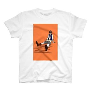 すわる T-shirts