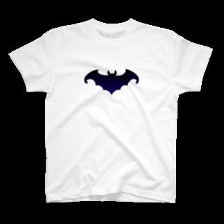 ツバメ堂のコウモリ T-shirts