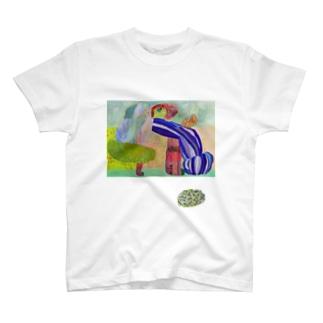 のびのびどーう と 原っぱおはぎ T-Shirt