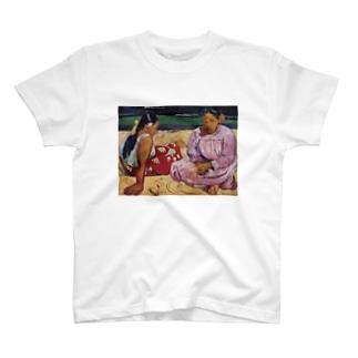Art Baseのタヒチの女(浜辺にて) / ポール・ゴーギャン(Tahitian Women on the Beach 1891) T-shirts
