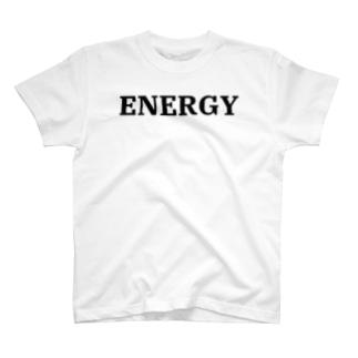 シンプルENERGYTシャツ T-shirts