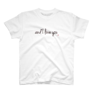 and I love you T-shirts