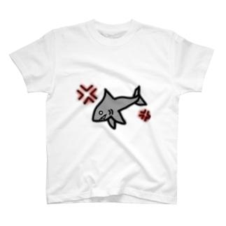 怒りサメ T-shirts