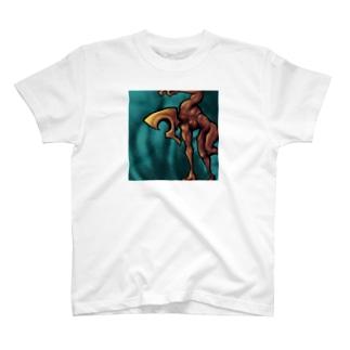 枠に捕らわれたおじさん2 T-shirts
