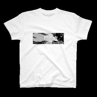 きらきらやさんのフライングデビル T-shirts