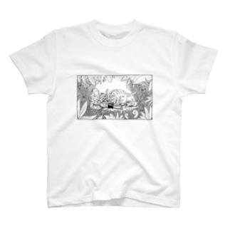 虎の親子 T-shirts