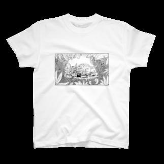 きらきらやさんの虎の親子 T-shirts