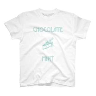 CHOCOLATE MINT T-shirts