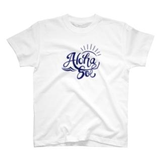 AlohaSol original Logo T-shirts