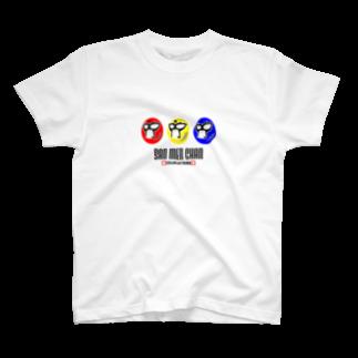 だてまき商店のサンメンチャン T-shirts