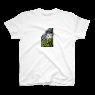 mountain loverの高山植物 T-shirts