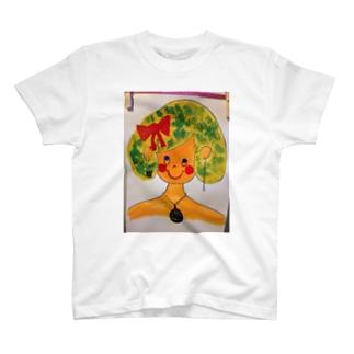知的な女の子 T-shirts