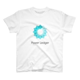 仮想通貨 Power Ledger    - B - T-shirts