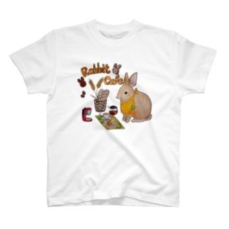 Rabbit Cafeグッズ T-shirts