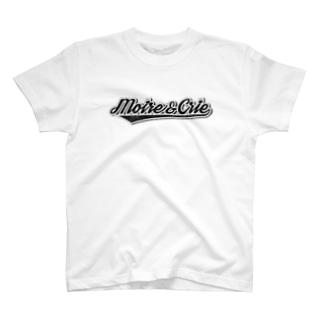 モアクリロゴ・ビンテージ T-shirts