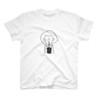 うまいアイスコーヒー T-shirts