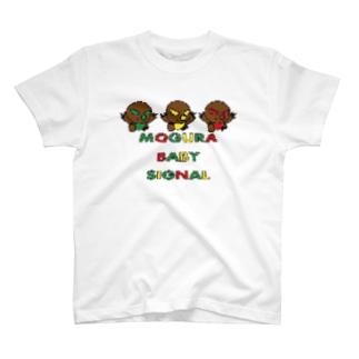 MOGURA BABY SIGNAL T-shirts