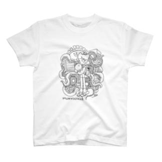 室外機とタコTシャツ T-shirts