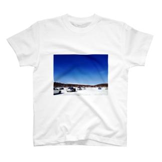 湖での走行会 T-shirts