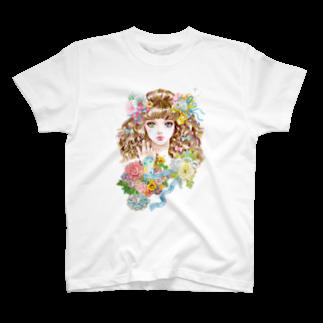 白ふくろう舎のLaraのTシャツ T-shirts