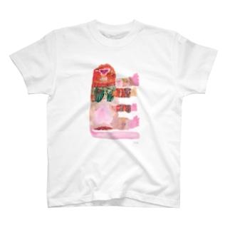 モサモサのオサル T-shirts