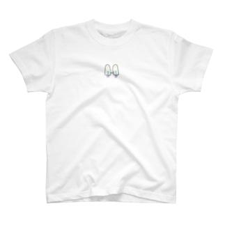 おばけちゃんシスターズ(黒フチ) T-shirts