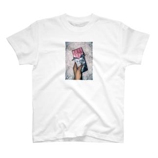 板チョコイチゴ味 T-shirts