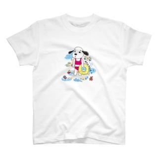 ゆき姉さん in beach T-shirts