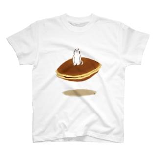 おやつねこ/どらやき T-shirts