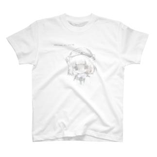 白っぽい羽音 T-shirts