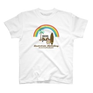 だいきちSummerHoliday T-shirts