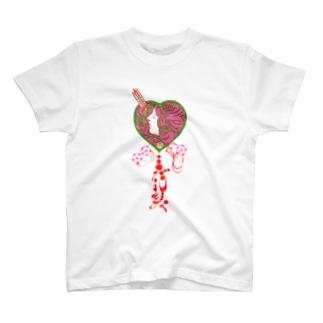 古書 天牛書店の与謝野晶子「みだれ髪」<ブック・デザイン> T-shirts