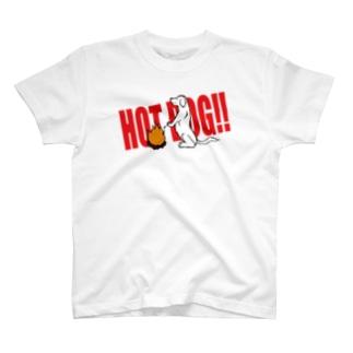 ホットドック!! T-shirts