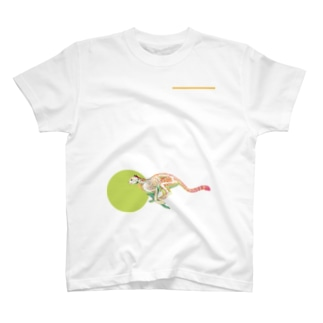 チーターのホネ T-shirts