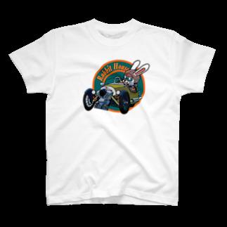 RHOUSE | GOODSの スリーホィラー T-shirts