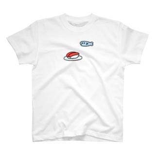 伊豆見のさっかっなっのすし T-shirts