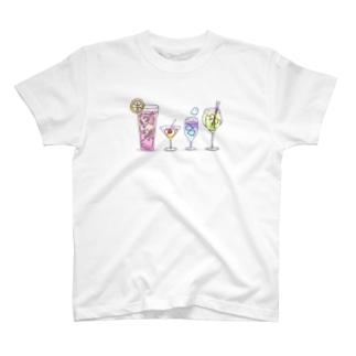 カクテルどうぞ! T-shirts