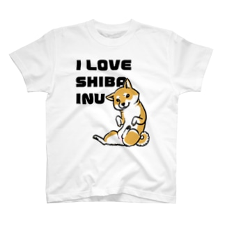 I LOVE SHIBAINU T-shirts