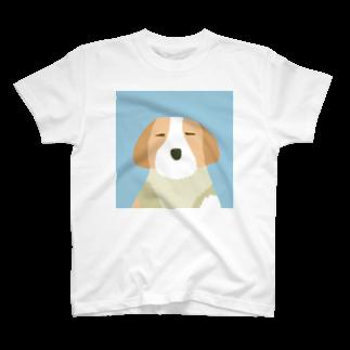 moonskipのイヌ T-shirts