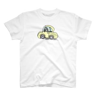 パンくんのドライブ T-shirts