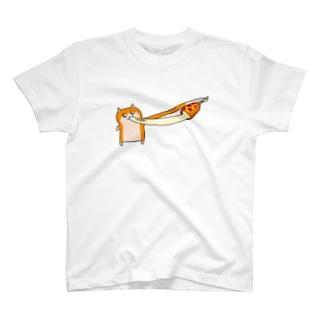 クソハムちゃんとチーズハットグ T-shirts